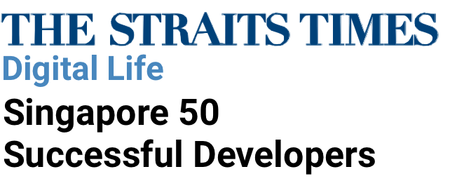 The Straits Times Digital Life Singapore 50 Successful Developers